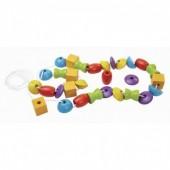 Plan Toys - Cordão Formas e Cores
