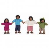 Plan Toys - Família de Bonecos (Mediterrânea)
