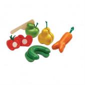 Plan Toys - Frutos e Vegetais com Velcro