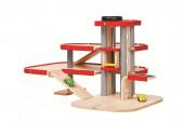 Plan Toys - Garagem de 3 Pisos