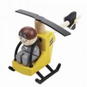 Plan Toys - Helicóptero com Piloto