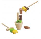 Plan Toys - Jogo de Empilhar os Troncos