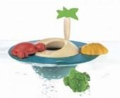 Plan Toys - Jogo Ilha flutuante