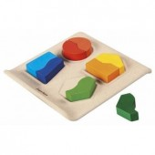 Plan Toys - Jogo Match de Formas