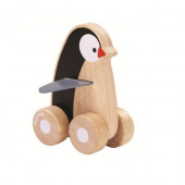 Plan Toys - Pinguim Sobre Rodas