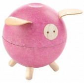 Plan Toys - Porco Mealheiro Rosa