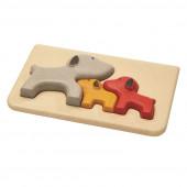 Plan Toys - Puzzle Cão