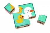 Plan Toys - Puzzle de Cubos
