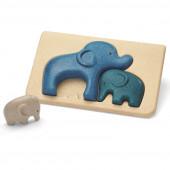 Plan Toys - Puzzle Elefante