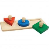 Plan Toys - Puzzle Formas Geométricas