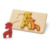 Plan Toys - Puzzle Girafa