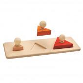 Plan Toys - Puzzle Triângulos