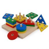 Plan Toys - Quadro de Classificação Geométrica