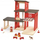 Plan Toys - Quartel Bombeiros