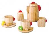 Plan Toys - Serviço de Chá em Madeira