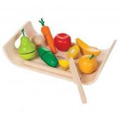 Plan Toys - Sortido de Frutas e Vegetais