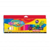 Plasticina Colorino Quadrada 18 Cores