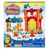 Plasticinas Play-Doh Estação bombeiros town plasticina