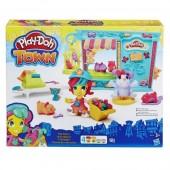Plasticinas Play-Doh Loja de Animais Town