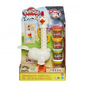 Play Doh Animal Crew Galinha Penas Divertidas