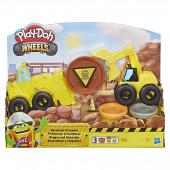 Play Doh Wheels - Escavadora e Camião de Carga
