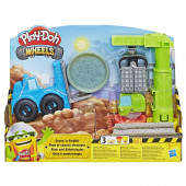 Play Doh Wheels Grua e Empilhador