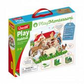 Play Montessori Play Habitat Quercetti