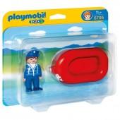 Playmobil 6795 Homem com jangada