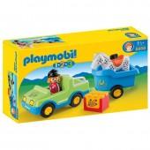 Playmobil 6958 Carro com atrelado