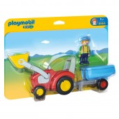 Playmobil 6964 - Tractor com reboque
