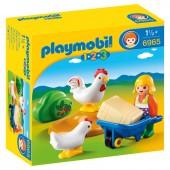 Playmobil  6965 - Fazendeiro com galinhas