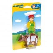 Playmobil 6972 - Fazendeiro com vaca