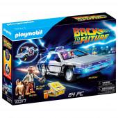 Playmobil Back to The Future - Veículo McLorean