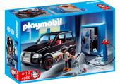 Playmobil City Action - Ladrão de Cofres com Carro de Fuga