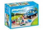 Playmobil City Life - Carro Lavagem para Cães