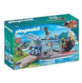 Playmobil Explorers - Hidrodeslizador com Jaula