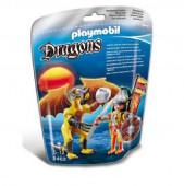 Playmobil Figura Dragão + Guerreiro Lutador