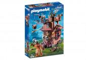 Playmobil Knights - Fortaleza Móvel de Anões