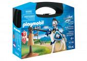 Playmobil Knights - Maleta de Treino para Cavaleiro