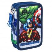 Plumier Triplo Avengers Marvel