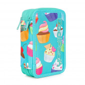 Plumier Triplo CoolPack Led Cupcakes