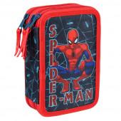 Plumier Triplo Spiderman Marvel