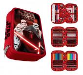 Plumier vermelho  estojo completo Star Wars