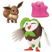 Pokémon 3 Figuras Combate Dartrix