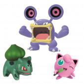 Pokémon 3 Figuras Combate Loudred