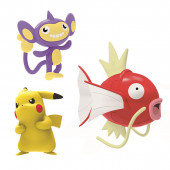 Pokémon 3 Figuras Combate Magikarp