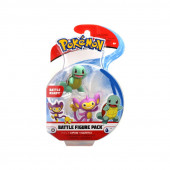 Pokémon Figura Combate Aipom vs Squirtle