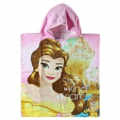 Poncho Bella das  Princesas Disney - Be Strong