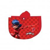 Poncho/capa chuva Ladybug