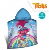 Poncho em Micro-fibra Trolls - Happy Vibes